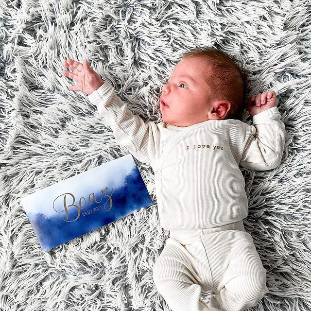 Geboortekaartje van Boaz