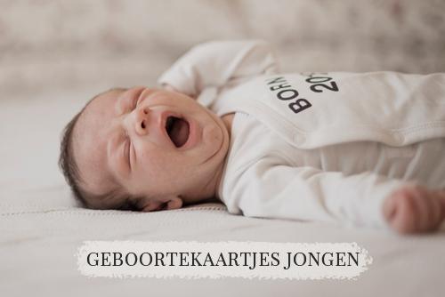 Mama-Tien Design | Jongens geboortekaartjes